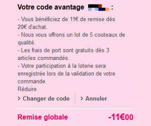Code reduction blanche porte promo frais de port offert et promotion valide - Code promo cdiscount frais de port offert 2015 ...