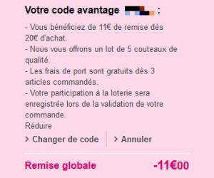 Code reduction blanche porte promo frais de port offert - Code promo deguisetoi frais de port gratuit ...