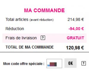 Code reduction les aubaines de la redoute promo frais - Code reduc brandalley frais de port gratuit ...