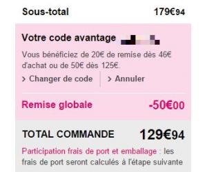 Code promo la modeuse frais de port offert griselbrand promo - Code promo la redoute frais de port offert ...