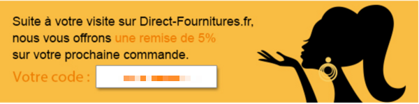 Code reduction direct fournitures promo frais de port - Code promo daniel jouvance frais de port offert ...