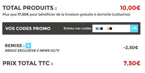 Code reduction mydesign promo frais de port offert et - Code promo vente privee frais de port ...