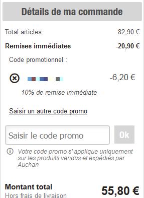 Vote 1 - Code promo cdiscount frais de port offert 2015 ...