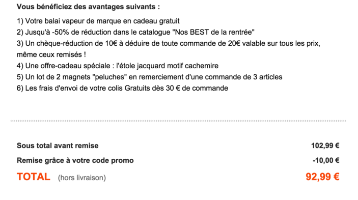 Code reduction bleu bonheur promo frais de port offert et promotion valide bleu - Code promo excedence frais de port gratuit ...