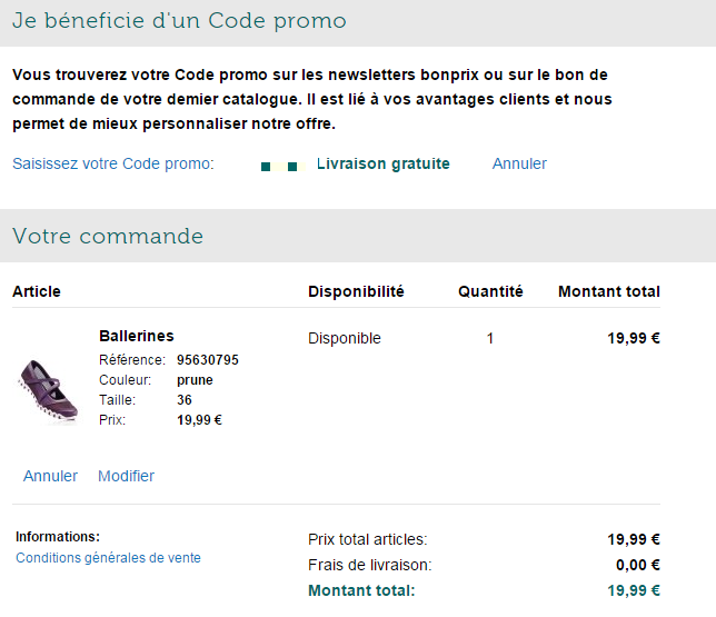 Code reduction bonprix promo frais de port offert et promotion valide - Bon de reduction amazon frais de port ...