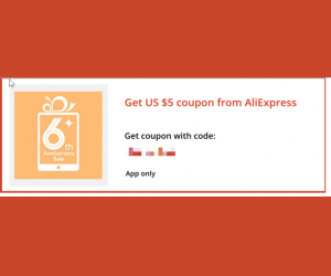 Discount coupon code for aliexpress com