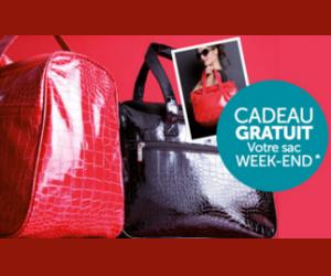 Le sac Weekend en cadeau pour toute commande dans l'univers Mode et Déco