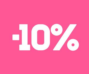10% de remise sur votre commande