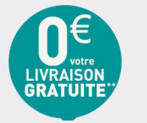 0€ Livraison GRATUITE