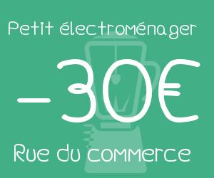30€ de remise sur le petit électroménager