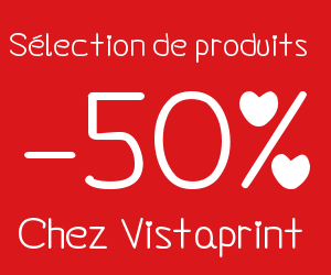 50% de remise sur une sélection de produits