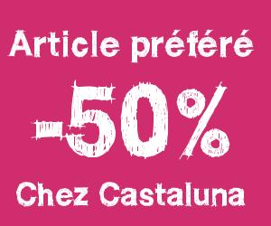 50% de remise sur votre article mode préféré
