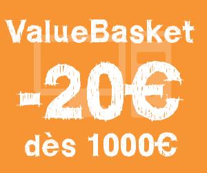 code reduction valuebasket bon plan et frais de port gratuit