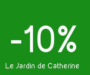 Code reduction le jardin de catherine promo frais de for Le jardin de catherine com