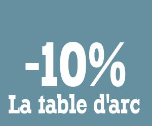 Code reduction la table d 39 arc promo frais de port - Code promo la redoute frais de port offert ...