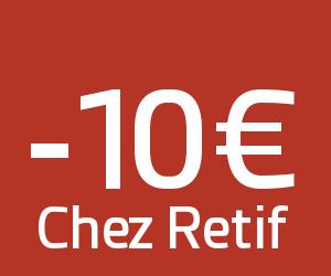 Code promo retif