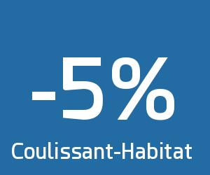 Code reduction coulissant habitat promo frais de port for Code habitat
