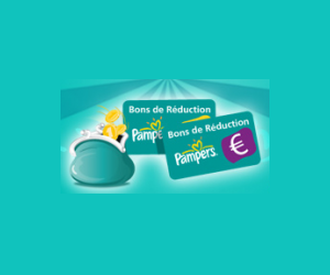 Bon de réduction Pampers
