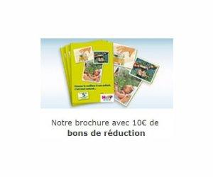 Echantillon : brochure produits Hipp et 10 euros de BDR