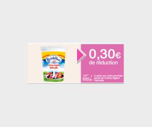 Bon de réduction à imprimer Bridélice crème légère veloutée