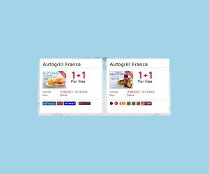 Echantillon : Imprimez votre bon pour une formule gratuite chez Autogrill