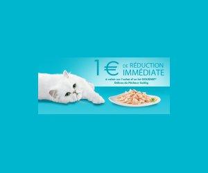 Echantillon : Bon de réduction Gourmet pour chats