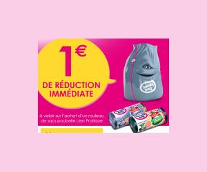 Bon de réduction à imprimer : 1€ Handy Bag