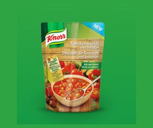 Echantillon gratuit : soupe Knorr