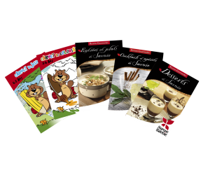 Echantillon gratuit : Livrets gratuits coloriages et recettes