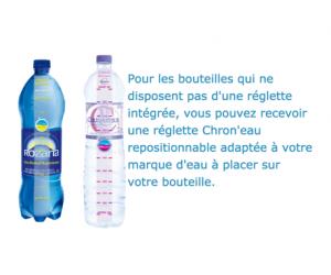 Echantillon gratuit : Réglette Chron'eau