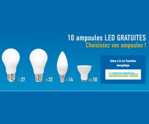 Echantillon gratuit : 10 ampoules gratuites