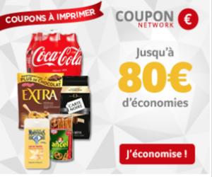 39,50€ de bons de réductions à imprimer
