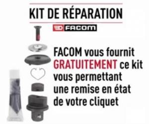 FACOM vous offre un kit de réparation de cliquet