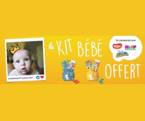 Echantillon gratuit : kit bébé TOTAL