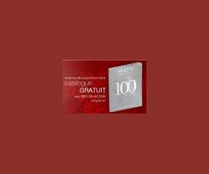 catalogue 100 me dition maty echantillon gratuit. Black Bedroom Furniture Sets. Home Design Ideas