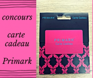 gagner carte cadeau primark Maman au top   une carte cadeau Primark à gagner : Autres concours