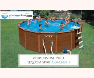 piscine intex sequoia spirit jeux concours. Black Bedroom Furniture Sets. Home Design Ideas