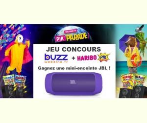 buzzwebzine mini enceinte et des bonbons haribo p k jeux concours. Black Bedroom Furniture Sets. Home Design Ideas