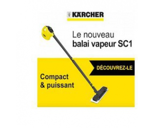 tests electro balai vapeur karcher jeux concours. Black Bedroom Furniture Sets. Home Design Ideas