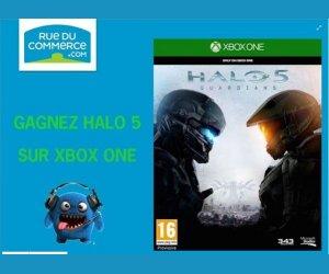 Rue du commerce : Jeu Halo 5 sur Xbox One