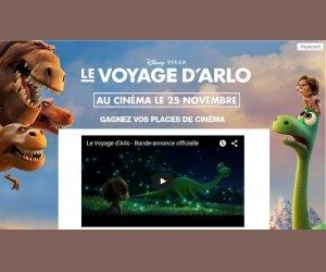 Rire et Chansons : Places pour le film Le voyage d'Arlo