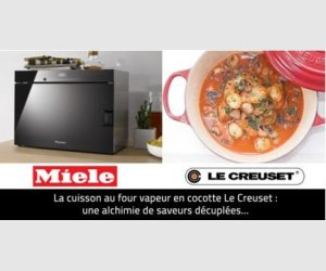 le creuset un four vapeur posable miele jeux concours. Black Bedroom Furniture Sets. Home Design Ideas