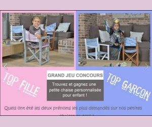 ma petite chaise une petite chaise personnalisable jeux concours. Black Bedroom Furniture Sets. Home Design Ideas