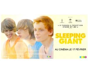 Cine-media : Des places de cinéma pour voir le film Sleeping Giant