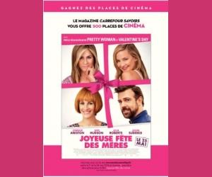 Carrefour.fr : Des entrées pour le film Joyeuse fête des mères