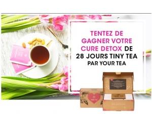 des coffrets tiny tea cure detox de 28 jours jeux concours. Black Bedroom Furniture Sets. Home Design Ideas