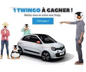 rent and drop une voiture renault twingo jeux concours. Black Bedroom Furniture Sets. Home Design Ideas