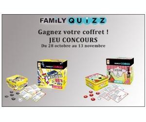 Ma famille zen lots de jeu family quizz cuisine et vin for Jeu concours cuisine