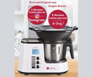 Lidl 8 robots monsieur cuisine plus jeux concours for Robot menager monsieur cuisine plus