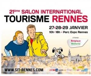 Ouest france des invitations pour le salon international - Salon tourisme rennes ...
